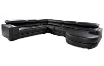 4 Piece Corner Sofa New Club Contrast