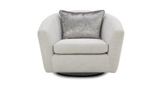Long Beach Swivel Accent Chair
