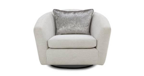 Long Beach Swivel Accent Chair