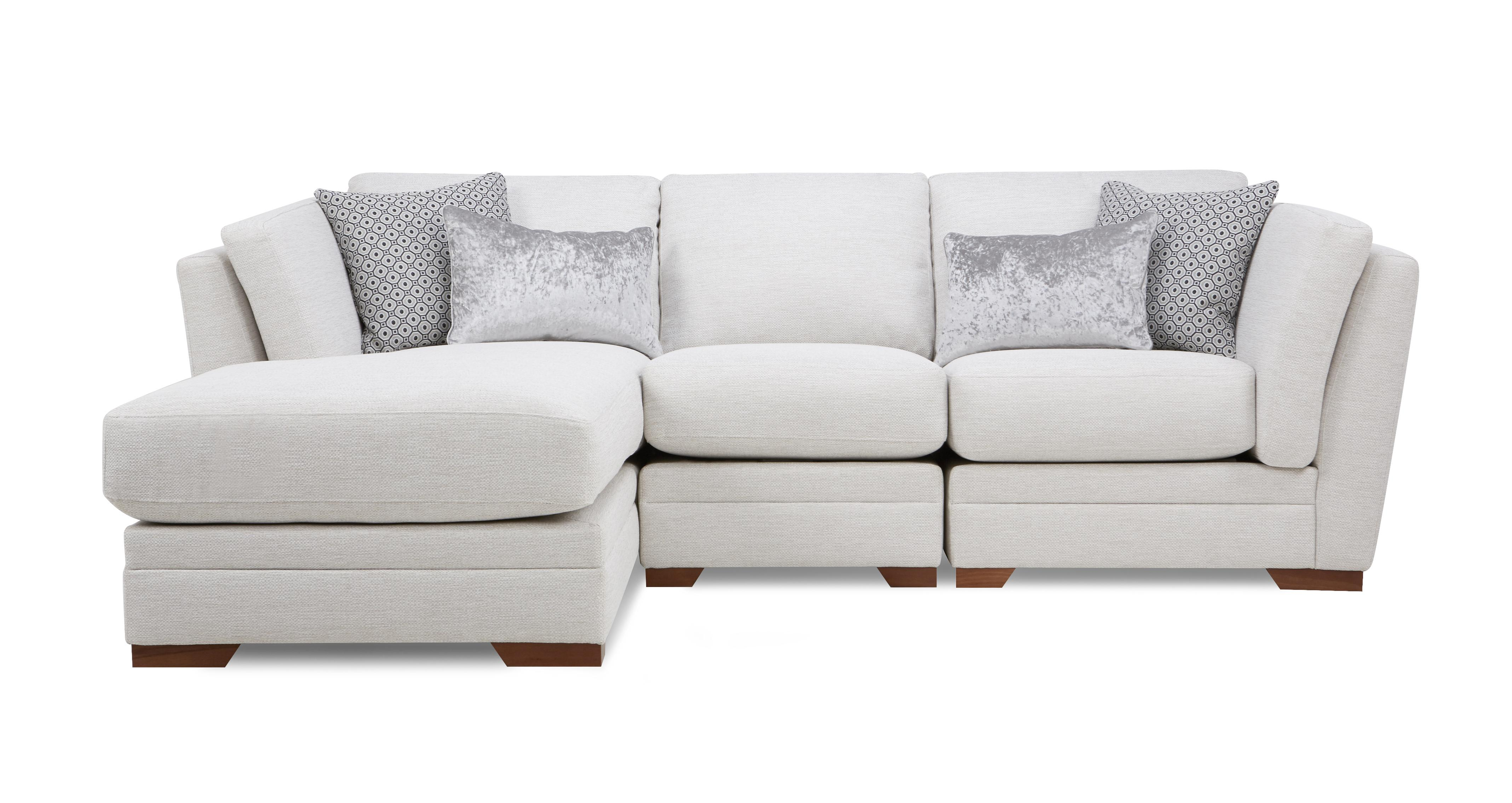 Beau Long Beach Left Hand Facing Small Chaise Sofa | DFS