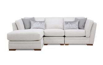 Long Beach Left Hand Facing Small Chaise Sofa Long Beach