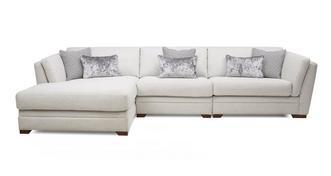 Long Beach Left Hand Facing Large Chaise Sofa