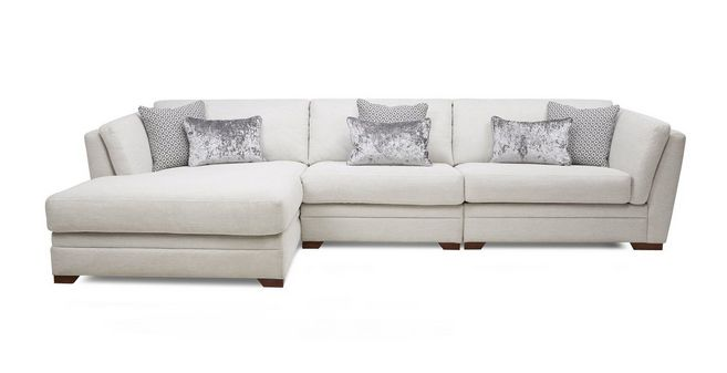 Genial Long Beach: Left Hand Facing Large Chaise Sofa