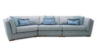Long Beach Left Hand Facing Large Angle Sofa