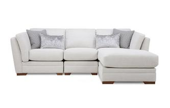 Long Beach Right Hand Facing Small Chaise Sofa Long Beach