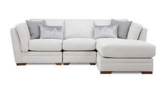 Long Beach Right Hand Facing Small Chaise Sofa