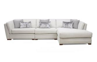 Long Beach Right Hand Facing Large Chaise Sofa Long Beach