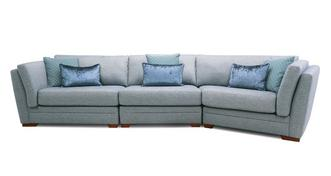 Long Beach Right Hand Facing Large Angle Sofa