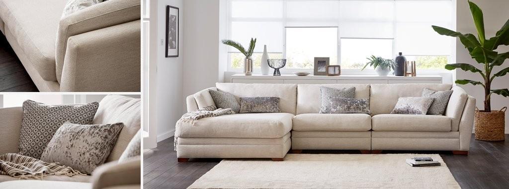 Awesome Long Beach Left Hand Facing Large Chaise Sofa Inzonedesignstudio Interior Chair Design Inzonedesignstudiocom