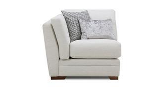 Long Beach Left Hand Facing Arm Small Sofa Unit