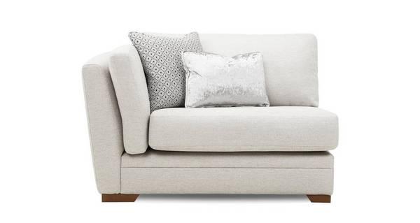 Long Beach Left Hand Facing Arm Large Sofa Unit