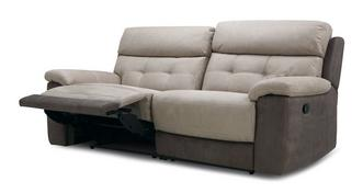 Loretto 3-zitter handbediende recliner