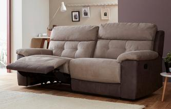 Loretto 3 Seater Manual Recliner Arizona