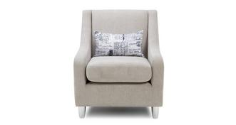 Lotus Plain Accent Chair