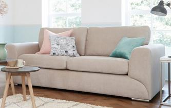 Lotus 3 Seater Sofa Plaza