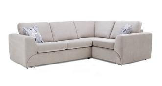 Lotus Left Hand Facing 2 Seater Corner Sofa