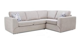Lotus Left Hand Facing 2 Seater Corner Sofa Bed