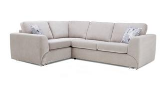 Lotus Right Hand Facing 2 Seater Corner Sofa Bed