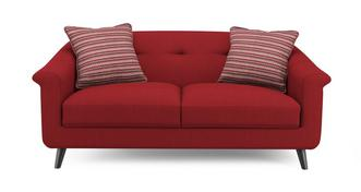 Louvre Plain and Pattern Midi Sofa