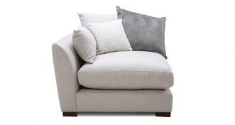 Loversall Pillow Back Left Hand Facing Arm 1 Seat Unit
