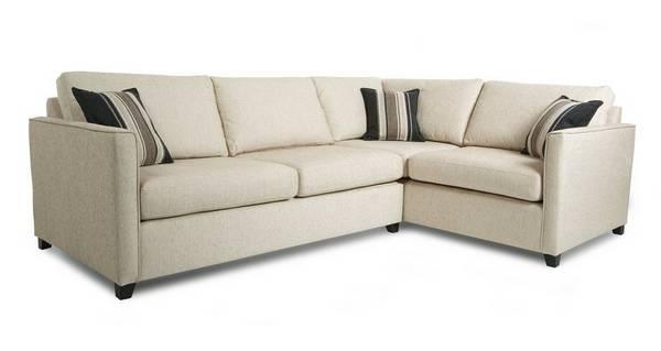Lucia Left Arm Facing Corner Deluxe Sofa Bed