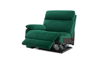 Left Hand Facing Arm 1 Seat Power Plus Unit