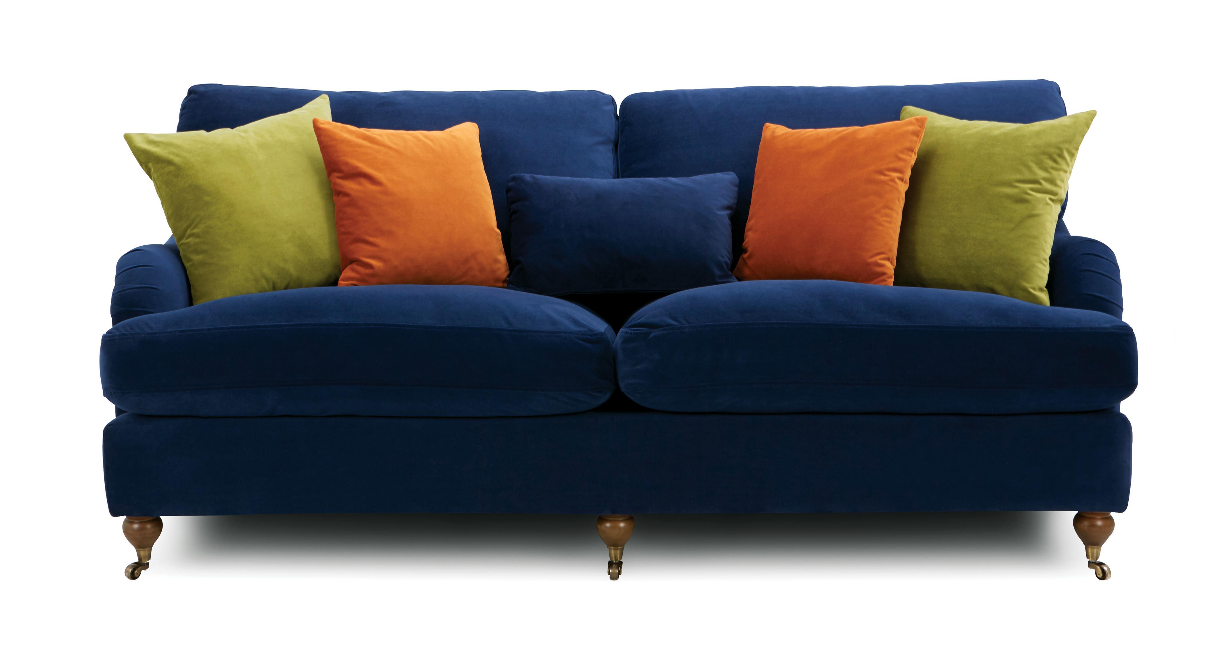 Ludlow Velvet 4 Seater Sofa Ludlow Velvet Dfs Ireland