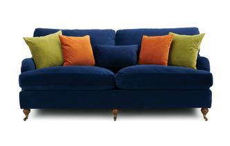 Velvet 4 Seater Sofa Ludlow Velvet
