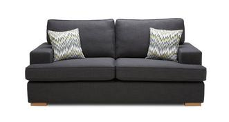Ludo 3 Seater Removable Arm