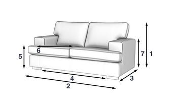 Ludo 3 Seater Sofa Revive Dfs