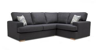 Ludo Left Hand Facing 2 Seater Corner Sofa
