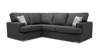 Ludo Right Hand Facing 2 Seater Corner Sofa