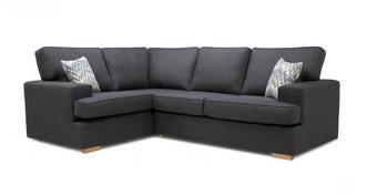 Ludo Right Hand Facing 2 Seater Corner Sofa