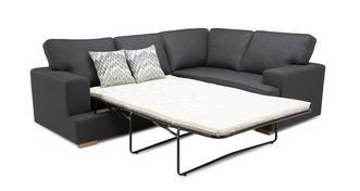 Ludo Left Hand Facing 2 Seater Corner Sofa Bed