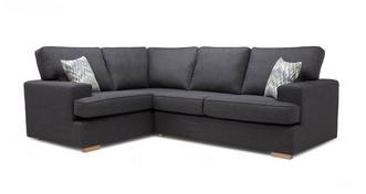 Ludo Right Hand Facing 2 Seater Corner Sofa Bed