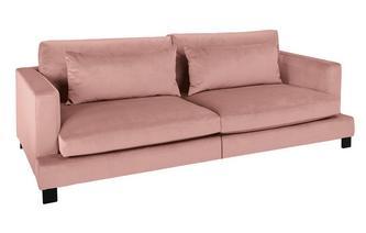 Velvet 4 Seater Sofa Bed