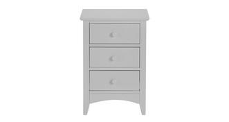 Luka 3 Drawer Bedside Table