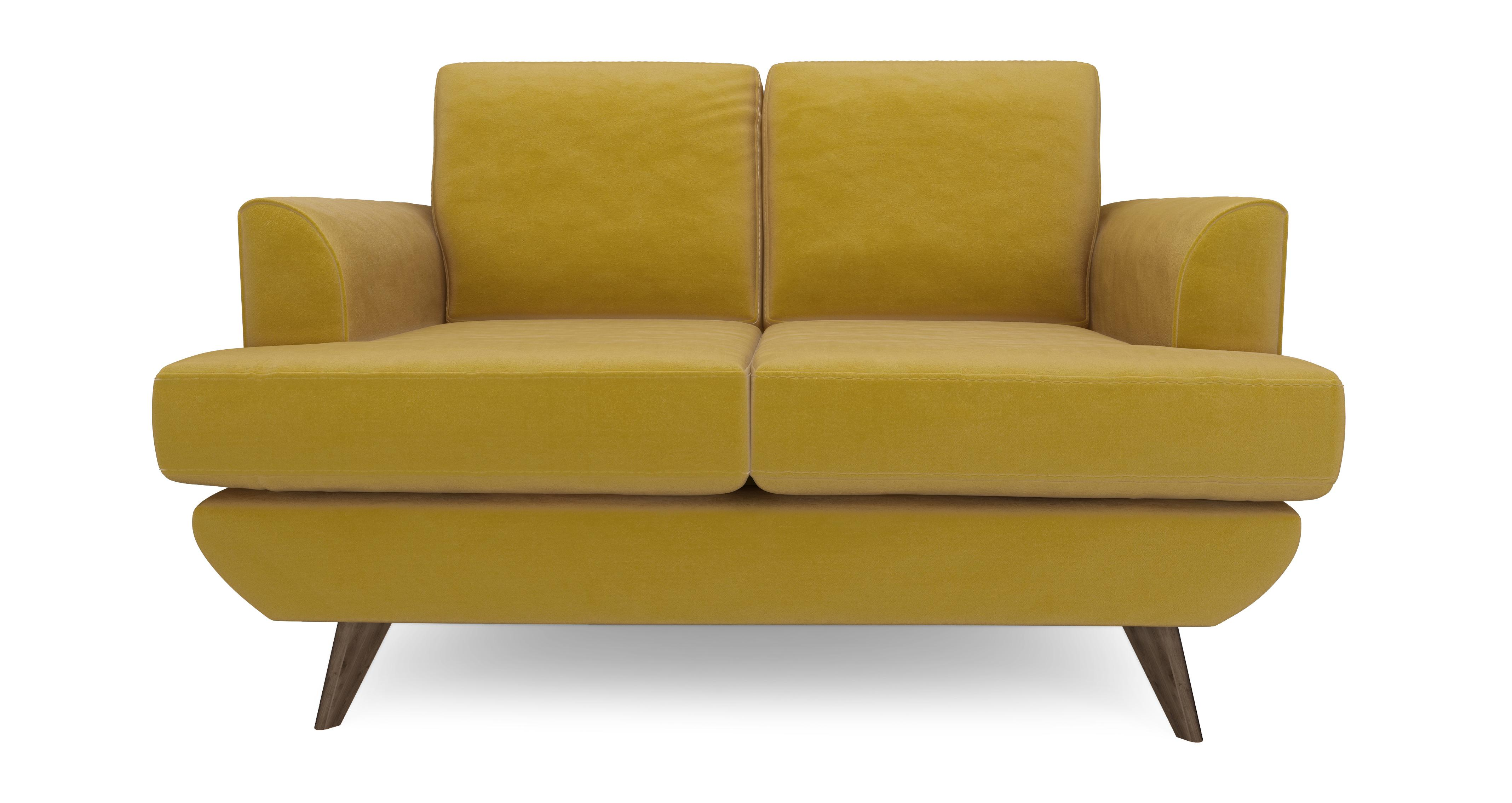 Incroyable Lull Compact Sofa Velvet | DFS Ireland