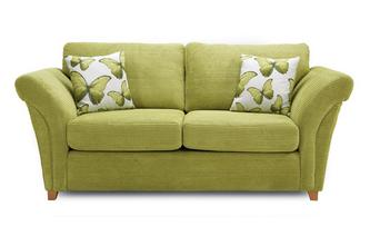 2 Seater Formal Back Sofa Bed