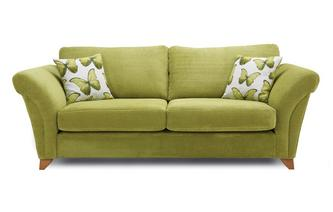 3 Seater Formal Back Sofa Lullaby Express