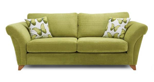 Lullaby Express 3 Seater Formal Back Sofa