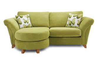 3 Seater Formal Back Lounger Sofa Lullaby Express