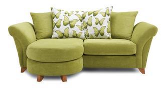 Lullaby Express 3 Seater Pillow Back Lounger Sofa