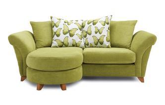 3 Seater Pillow Back Lounger Sofa Lullaby Express