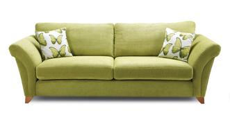 Lullaby Express 4 Seater Formal Back Sofa