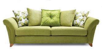 Lullaby Express 4 Seater Pillow Back Sofa