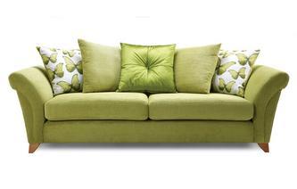 4 Seater Pillow Back Sofa Lullaby Express