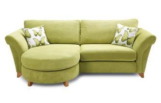 4 Seater Formal Back Lounger Sofa Lullaby Express