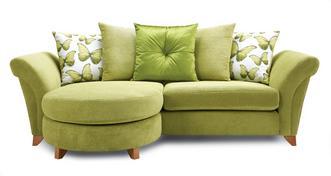 Lullaby Express 4 Seater Pillow Back Lounger Sofa