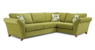 Lullaby Express Left Hand Facing 3 Seater Formal Back Corner Sofa